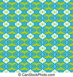 Vector seamless pattern in vibrant colors