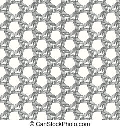 vector seamless pattern lines monochrome background