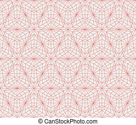 Vector seamless pattern. Modern stylish texture. Repeating geometric background with lines