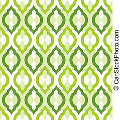 Vector seamless pattern. Moroccan style. - Vector seamless...