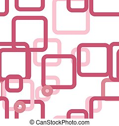 Vector seamless pattern of colored squares
