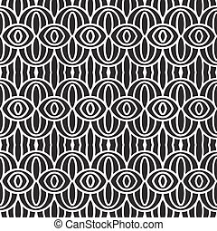Vector seamless pattern of contrast