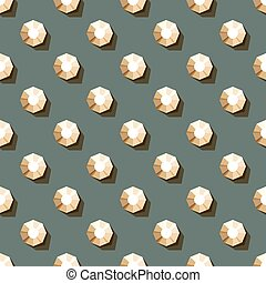 seamless pattern of rhinestones