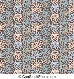 seamless pattern on an abstract background
