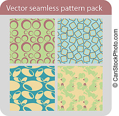 vector seamless pattern pack