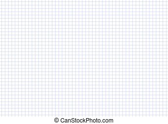 Vector seamless pattern paper exercise book in a cell. Texture notebook sheet