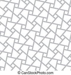 Vector seamless pattern - poligonal geometric modern simple...