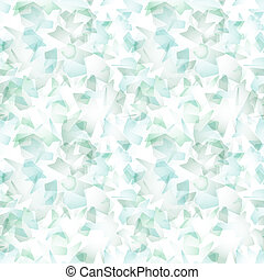 Vector seamless pattern - simulating watercolor brush strokes on white paper