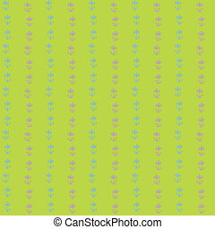 vector seamless pattern, tiny grunge flowers