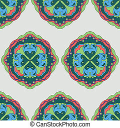 seamless pattern with abstract element