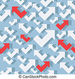 seamless pattern with arrows