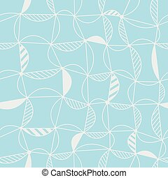 Vector seamless pattern with light blue background.
