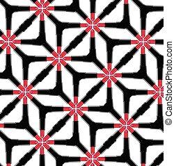 Vector seamless pattern with lipsticks