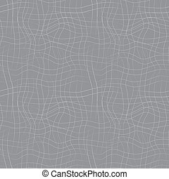 Vector seamless pattern with wavy drawn lines on a grey background