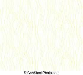 Vector seamless pattern with wavy drawn lines on a white background