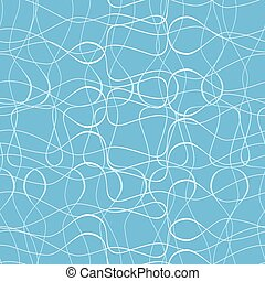 Vector seamless pattern with white threads