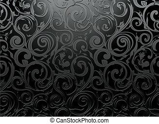 vector, seamless, pauta papel pintado