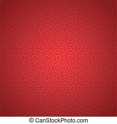 seamless red snowflake background