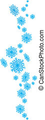 Vector - seamless snowflake