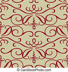 Vector Seamless Swirl Pattern
