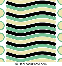 Vector seamless texture of line and circle pattern