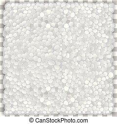 Vector Seamless Texture Plastic Foam