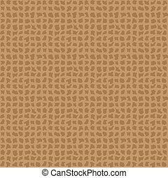 Vector seamless texture with mesh. Old fabric texture