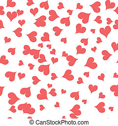 texture with pink hearts