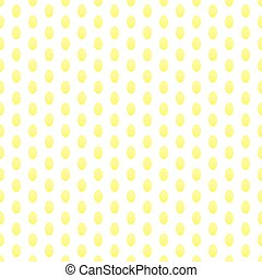 Vector seamless texturee with golden eggs on a white background