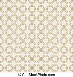 Vector seamless vintage geometric wallpaper pattern