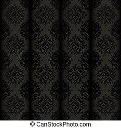 vector seamless vintage wallpaper
