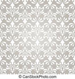 Vector Seamless Vintage Wallpaper Pattern