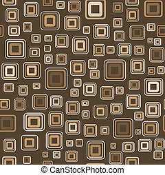 Vector seamless wallpaper with squares