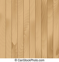 Vector Seamless Wood Plank Texture Background - Vector...