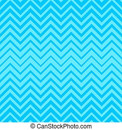 Vector seamless zigzag pattern - Blue vector simple seamless...