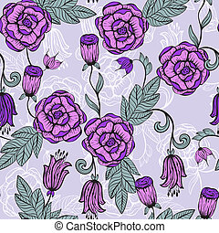 Vector seamlesss Floral pattern