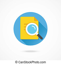 Vector Search the Document Icon