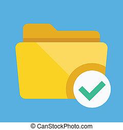 Vector Select Folder Icon