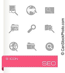 Vector seo icon set
