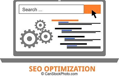 vector - seo optimization