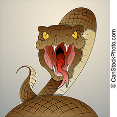 vector, serpiente
