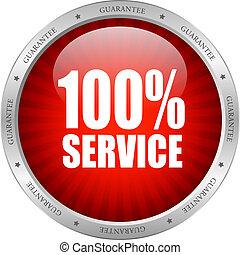 vector, servicio, icono