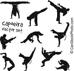 vector, set, capoeira