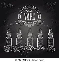 Vector set e-cigarette - Vector electronic cigarette with...