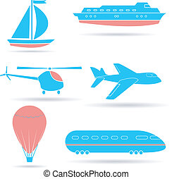 vector, set, eps10, icons.