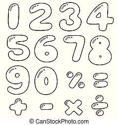 vector, set, getallen
