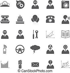 vector, set, iconen