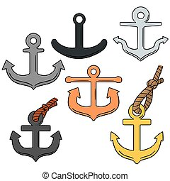 vector set of anchor