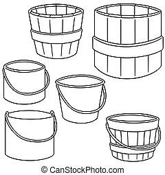 vector set of bucket