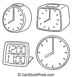 vector set of clock